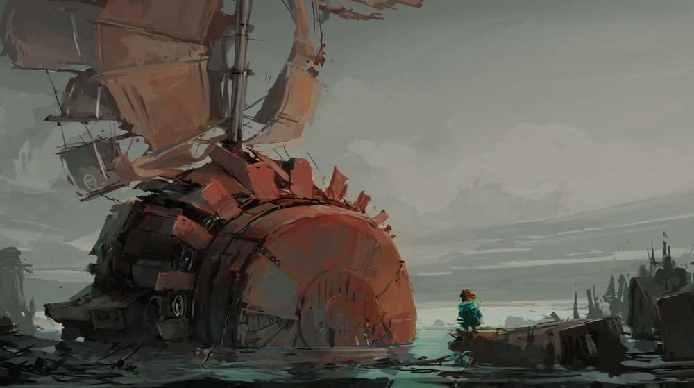Far: Changing Tides Artwork